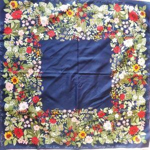 2/$65 Vintage Cornelia James scarf